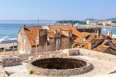 Split, Croatia Vestibule aerial Stock Photo
