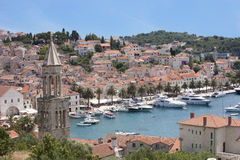 Hvar city in Croatia Royalty Free Stock Image