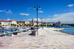 Split em Croatia fotos de stock royalty free