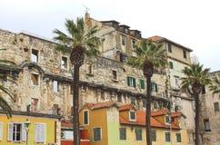 split för croatia diocletian slott s Royaltyfria Bilder
