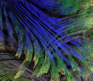 Split Fanning Abstract Royalty Free Stock Photos