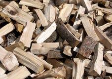 Split Firewood Background Stock Photos