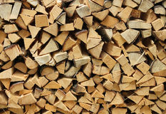 Split firewood Royalty Free Stock Photos