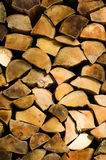 Split firewood logs Stock Photo
