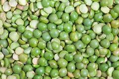 Split green peas royalty free stock image