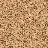 Split ground seamless Stock Images
