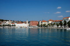 Split harbor, Croatia Royalty Free Stock Photography