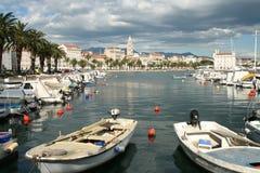 Split harbour Royalty Free Stock Photo