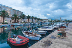 Split harbour Royalty Free Stock Photography