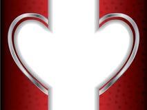 Split Heart Royalty Free Stock Images