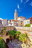 Split historic architecture of Diocletian's palace Royalty Free Stock Photography