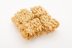 Split instant noodles Stock Photos