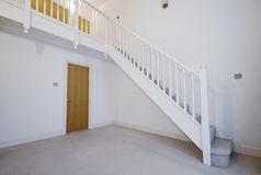 Split level bedroom Royalty Free Stock Image