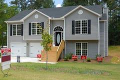 Split Level Home for sale Stock Image