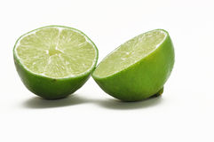 Split lime Stock Photo