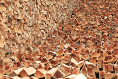 Split logs Stock Photos