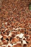 Split logs Stock Images
