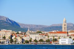 Split Old Town. Scenery of Split Old Town, Croatia Royalty Free Stock Images