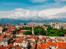 Free Split, Old Town, Croatia. View From The Tower-bell Tower To The Royalty Free Stock Image - 89239356