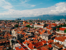 Free Split, Old Town, Croatia. View From The Tower-bell Tower To The Royalty Free Stock Images - 89239379