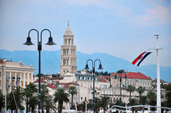 Split. One of the major Croatian city Royalty Free Stock Photography