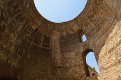 Split - palace of Emperor Diocletian Royalty Free Stock Image