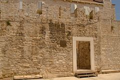 Split - palace of Emperor Diocletian stock photography