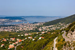 Split panorama - Croatia Royalty Free Stock Images