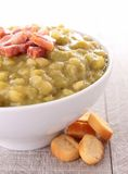 Split pea Royalty Free Stock Images
