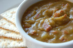 Split Pea Soup Royalty Free Stock Images