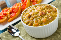 Split Pea Soup Royalty Free Stock Image