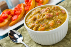 Split Pea Soup Royalty Free Stock Photography