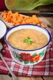 Split pea soup. Stock Photos