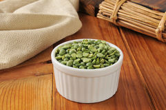 Split peas Royalty Free Stock Photo