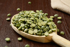 Split peas Stock Photo