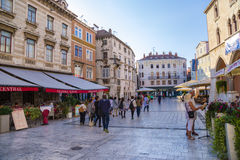 Split. People's square Stock Photography