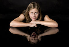 Split personality Royalty Free Stock Photography