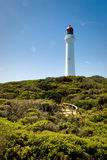 Split Point Lighthouse at Aireys Inlet, Australia Stock Photo