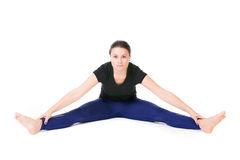 Split pose Stock Photography