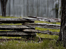 Split Rail Fence Royalty Free Stock Photography