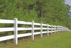 Split Rail Fence Royalty Free Stock Photos
