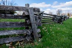 Split Rail Fence Royalty Free Stock Images