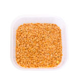 Split red lentil Stock Image