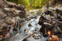 Split Rock Falls In Autumn royalty free stock photography
