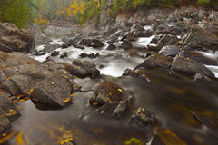 Split Rock Falls. Located in the Adirondacks New York royalty free stock photos
