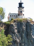 Split Rock Light House. From the shore of Lake Superior Royalty Free Stock Images