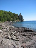 Split Rock Light House. From the shore of Lake Superior Royalty Free Stock Photography