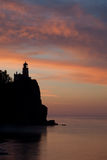 Split Rock Lighthouse. On the North Shore of Lake Superior, Minnesota Stock Photos