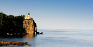 Split Rock Lighthouse. Overlooks lake superior, in northern MN Royalty Free Stock Photos