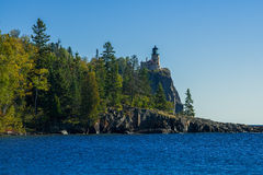 Split rock lighthouse, autumn Royalty Free Stock Image